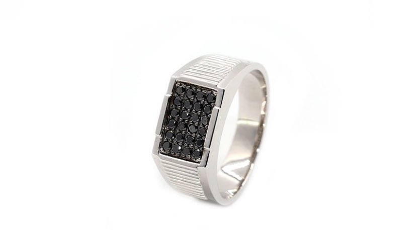 Golden Eye Sieraden Alanya Man Diamond Ring